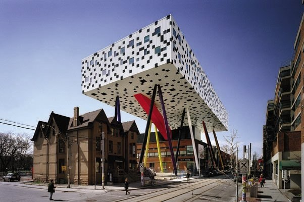 Sharp Centre for Design, Ontario College of Art & Design, Toronto Photo- Richard Johnson