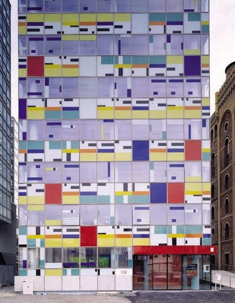 Colorium, Dusseldorf, Germany.   Photo- Alsop Architects