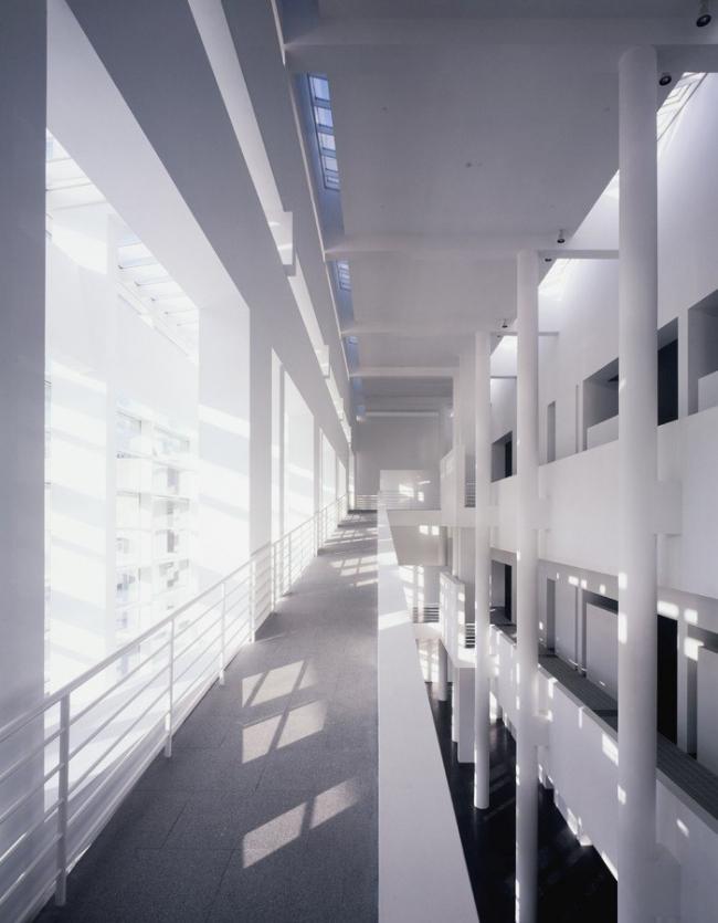 Музей современного искусства в Барселоне, 1995 г.