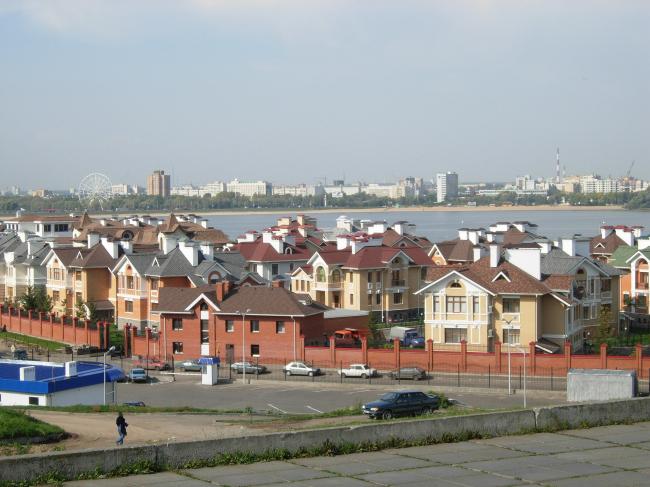 поселок нефтяников в Казани