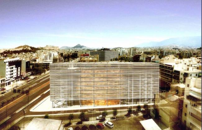 Культурный центр Александра С. Онассиса. Проект. Изображение с сайта worldarchitecturenews.com