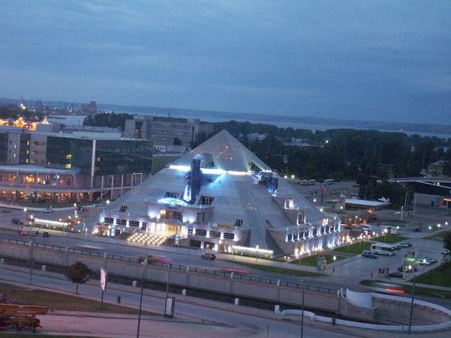 Казань. Центр Пирамида