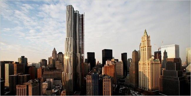 Башня New York by Gehry. Фото © Fred R. Conrad