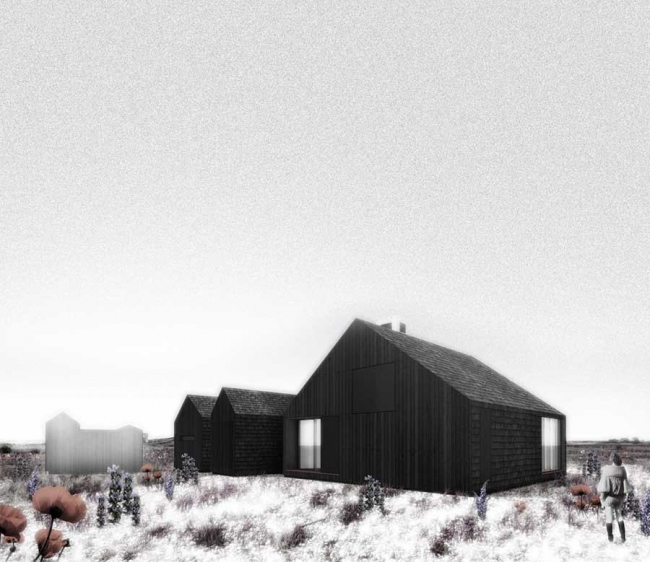 Вилла Shingle house. Проект © Living Architecture