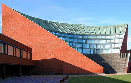 Политехнический институт в Отаниеми. Фото: Олег Попов