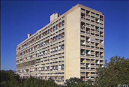 Жилой дом в Марселе.