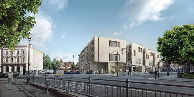 Школа архитектуры и строительства Гринвичского университета. 2011 г. © heneghan peng architects