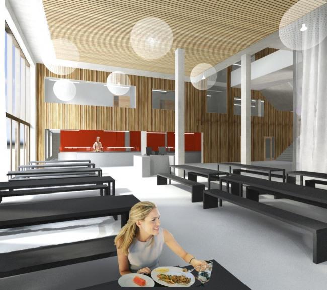 Амстердамский университетский колледж  © Mecanoo Architecten