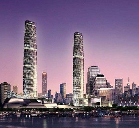 Крис Уилкинсон. Guangzhou Twin Towers