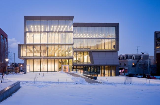 Центр искусств Университета Брауна. Фото © Iwan Baan
