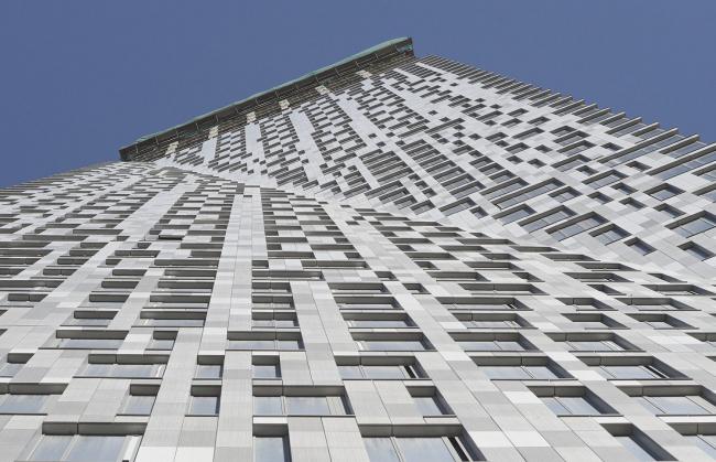 Дом на Мосфильмовской. Фотография © Sergey Skuratov architects