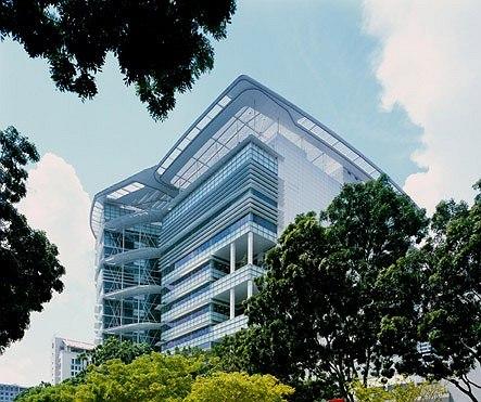 Кен Янг. Национальная библиотека, Снингапур