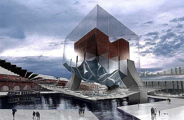 Эрик Мосс, проект реконструкции Новой Голландии 2002 года. Изображение с сайта Музея Архитектуры © http://www.muar.ru