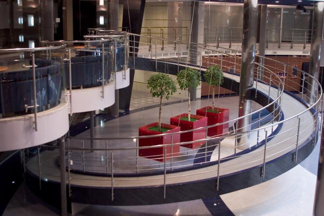 Интерьеры Общественных зон офисного центра «Легион-1»