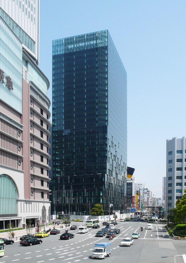 Башня Fukoku. © shimizu / DPA / ADAGP