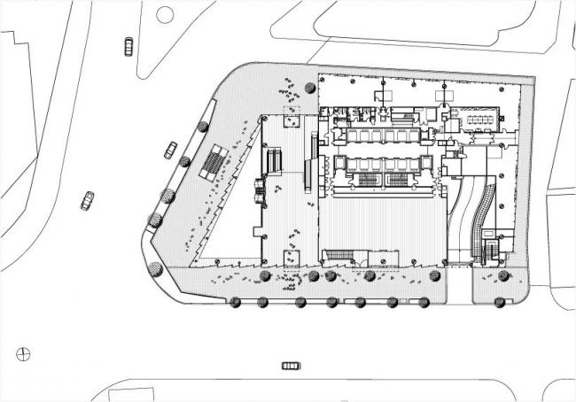 Башня Fukoku. План этажа © DPA / ADAGP