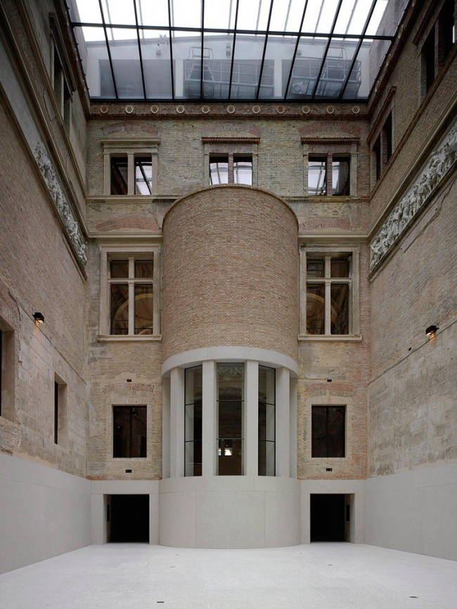 Новый музей - реконструкция © Stiftung Preussischer Kulturbesitz and David Chipperfield Architects, photo by Christian Richters