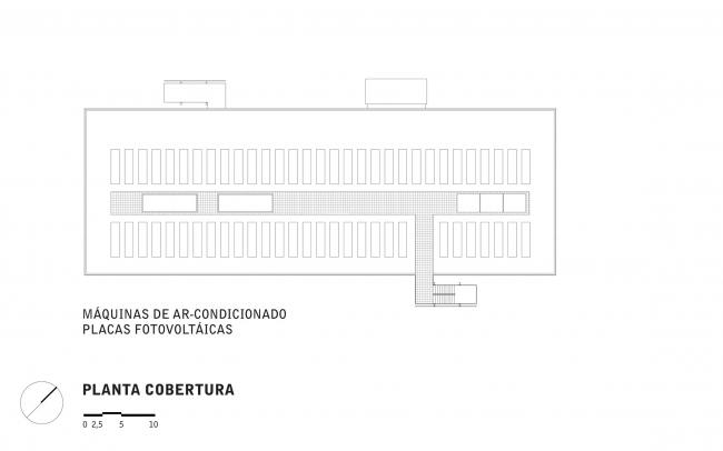 Музей современного искусства - MAM. Уровень крыши © Paulo Mendes da Rocha + Metro Arquitetos