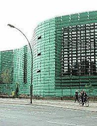 Скандинавские посольства. Фрагмент фасада