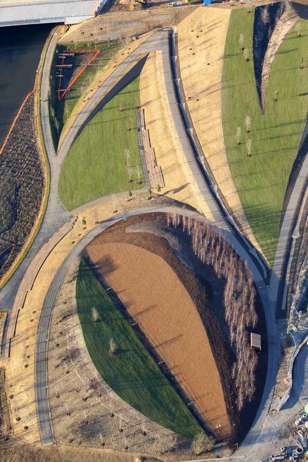 Олимпийский парк в процессе строительных работ © ODA