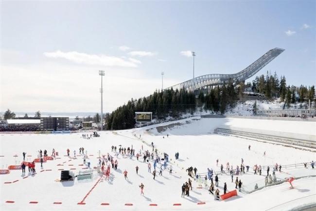 Лыжный трамплин Хольменколлен © Iwan Baan