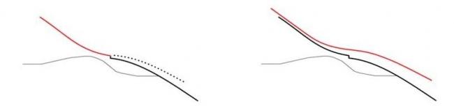 Лыжный трамплин Хольменколлен. Идеальный склон. Защита от ветра © JDS