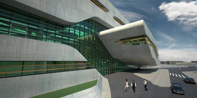 Комплекс «Пьер Вив» © Zaha Hadid Architects