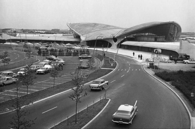Терминал авиакомпании TWA. Фото с сайта wsj.com
