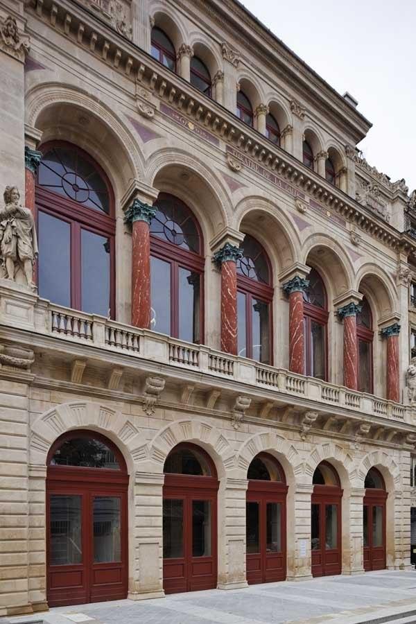Центр искусств La Gaite lyrique. Фасад © Manuelle Gautrand