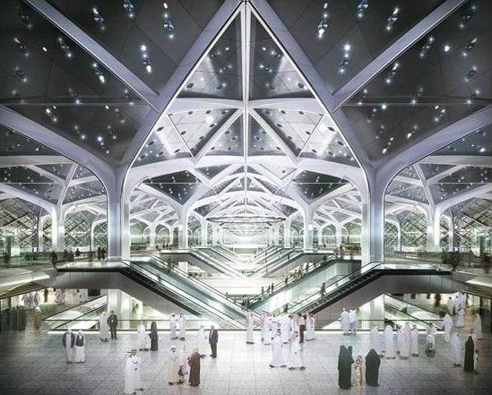 Станция скоростной железной дороги «Харамайн» в Джидде © Foster + Partners