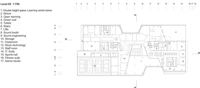 Колледж района Вестминстер. schmidt hammer lassen architects