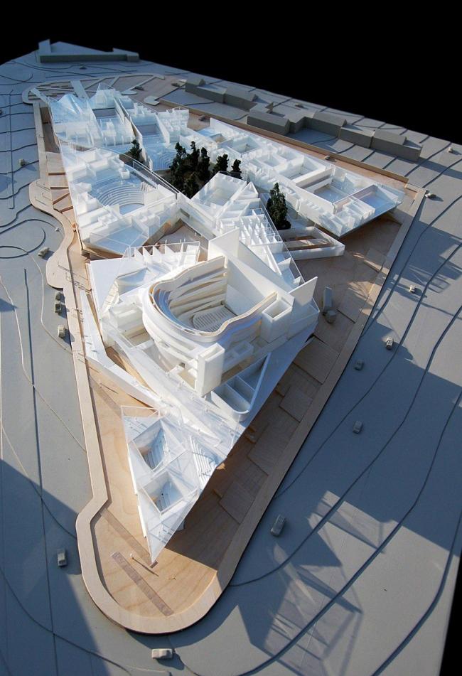 Центр исполнительских искусств Машуфа © Michael Maltzan Architecture
