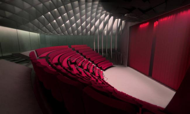 Центр исполнительских искусств Машуфа. Малый зал © Michael Maltzan Architecture