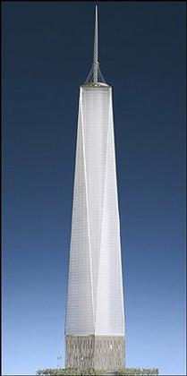Дэвид Чайлдс. «Башня свободы». Проект. Июнь 2005 года