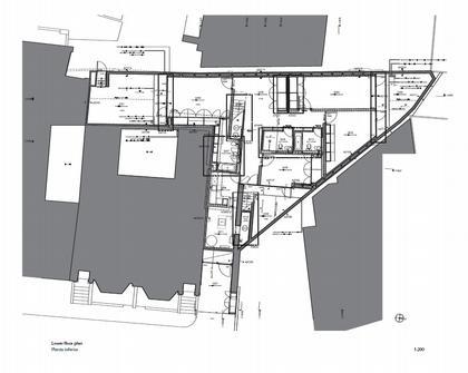 Брик Хаус. План 2-го этажа © Caruso St John
