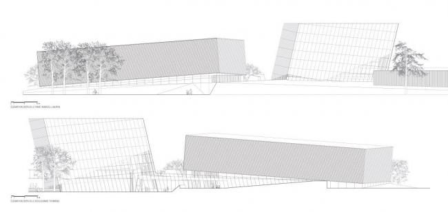 Спорткомплекс района Сен-Лоран © Building Montreal UNESCO City of Design