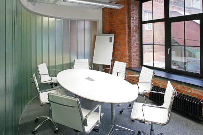 Офисные помещения компании «Проф-Медиа» © Архитектурная мастерская Сергея Эстрина