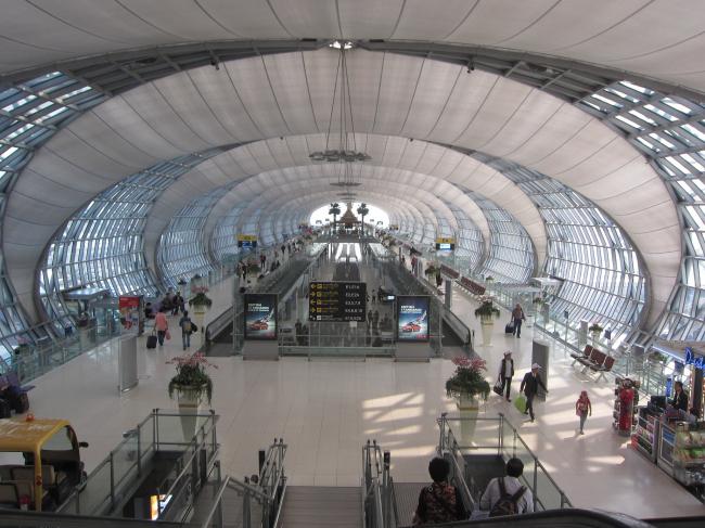 Аэропорт Суваннапум. Фото: Terrazzo via flickr.com. Лицензия CC BY-ND 2.0