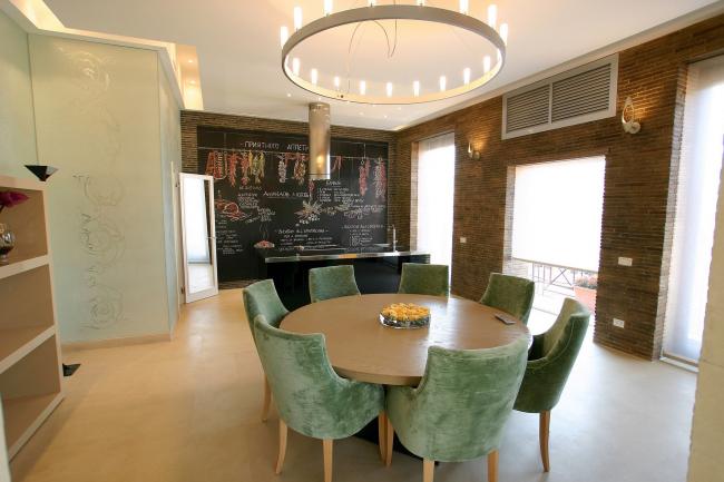 Дизайн интерьера частной квартиры © Архитектурная мастерская Сергея Эстрина