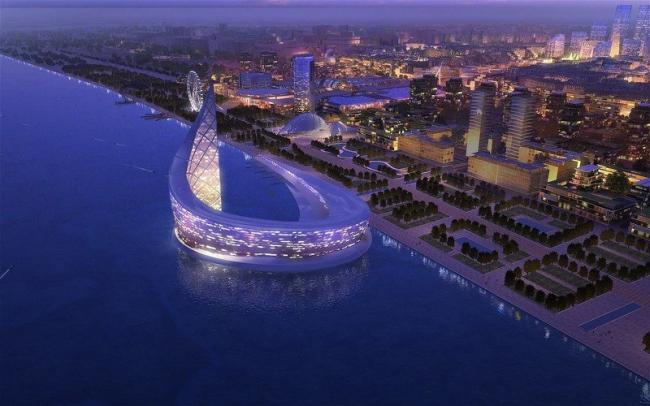Район Baku White City. Общий вид © Baku White City