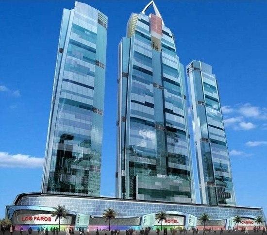 Небоскреб Los Faros de Panama. Фото с сайта http://www.globalconstructionwatch.com/