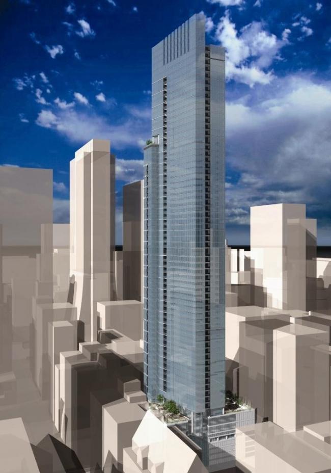 Небоскреб Legacy в Парке Миленниум, Чикаго. Фото с сайта http://forum.skyscraperpage.com/
