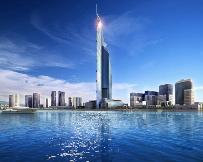 Небоскреб Dubai Towers в Дохе (Катар). Фото с сайта http://dubaiweather.info