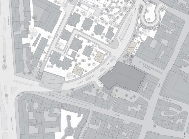 Многоуровневый общественный паркинг на Кулинштрассе. © BHSF Architekten/Claus en Kaan Architecten
