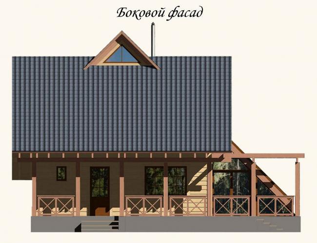 Боковой фасад
