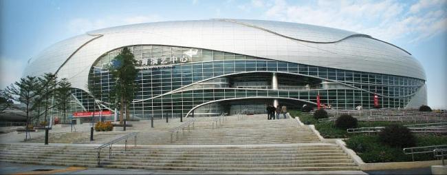 Стадион в Гуанчжоу, Manica architects, изображение с сайта Manica architects.