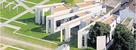 Зви Хекер. Синагога/ Еврейский культурный центр в Дуйсбурге. 1996-99. Фото с сайта derwesten.de