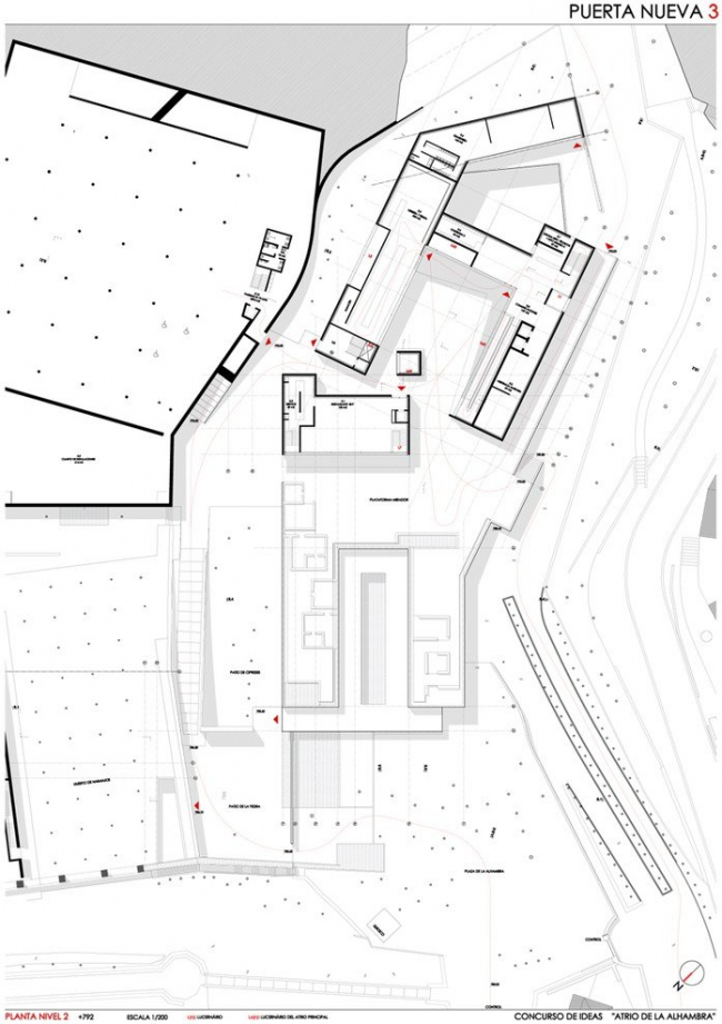 Посетительский центр «Атриум Альгамбры» © Estudio Juan Domingo Santos & Estudio Alvaro Siza
