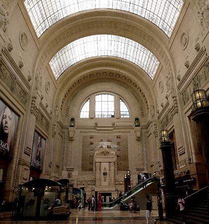 4. Вокзал в Милане, У.Стаккини, 1912-31, интерьер. Фото: © П.Захаров
