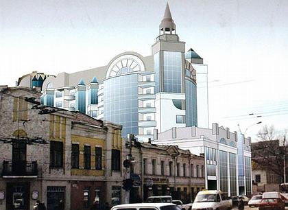 Свои новые проекты саратовские архитекторы и их заказчики упорно не желают «вписывать» в исторический облик «настоящего»  Саратова